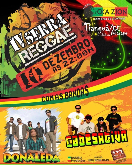 tiangua reggae evento
