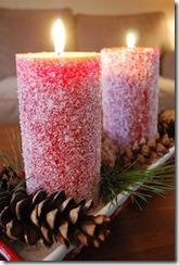 candele innevate
