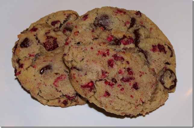 Raspberry Chocolate Chip Cookies 2-16-13