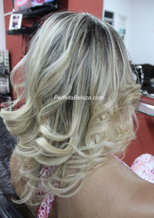 mechas champagne