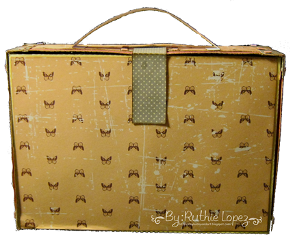 The Cutting Caffe - Suitcase Box - CRAFT GDT - Ruthie Lopez 4