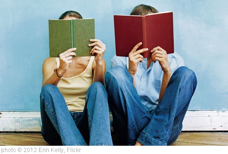 'couple-reading-books' photo (c) 2012, Erin Kelly - license: http://creativecommons.org/licenses/by/2.0/
