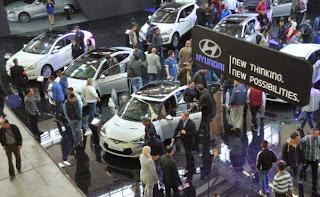Salon international de l'automobile, Le 4×4 et la voiture de sport dominent les offres