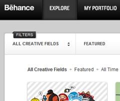 behance artist portfolio