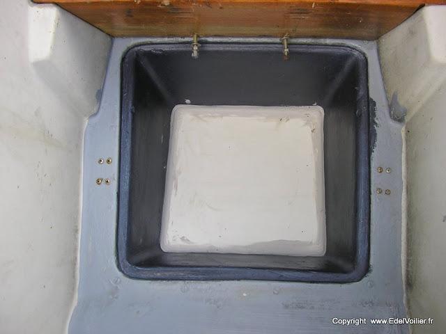 joint silicone au fond du puits