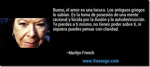 el amor es una locura