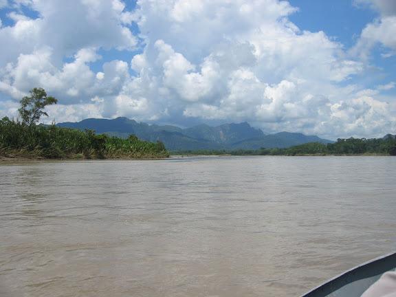 Sur le Rio Beni (alt. : 200 m), au sud de Rurrenabaque (Bolivie), 20 janvier 2004. Photo : H. Bloch