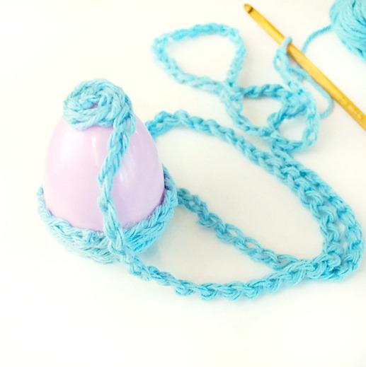 Crochet Chain Easter Eggs