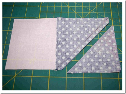 sew and trim quarter inch flying geese