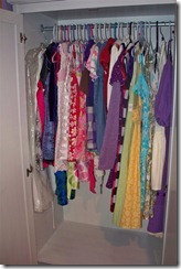 Girls dress wardrobe