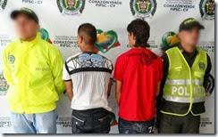 DOS CAPTURAS POR OJ.HOMICIDIO EN URRAO