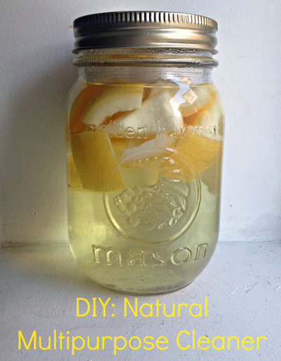 DIY Natural Multipurpose Cleaner