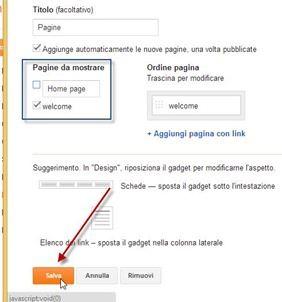widget-pagine-statiche