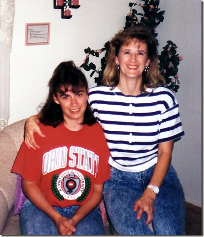Aunt Connie & Jennifer 1990 01