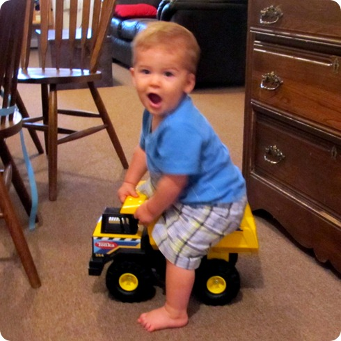 Nolan&#39;s new dump truck