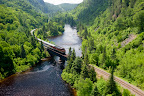 A one-day rail excursion into the heart of Canadian wilderness.