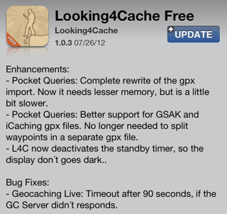 Looking4Cache Free 1.0.3