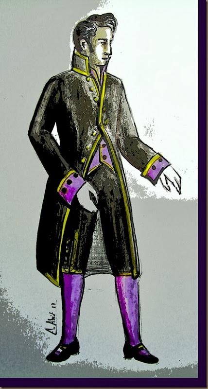 diseño traje de librea servidor de paso alvaro abril vela 2013 valdepeñas ciudad real