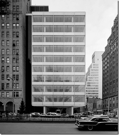 Ezra Stoller_Pepsi Cola Building, Skidmore, Owings & Merrill, New York, NY, 1960