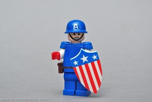 capitao america super herois de lego desbaratinando