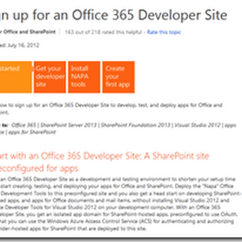 Las apps de SharePoint 2013 (IV): Una app en MVC y en Azure