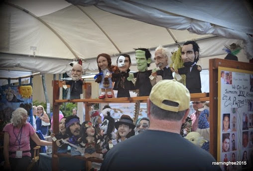These puppets were pretty cool