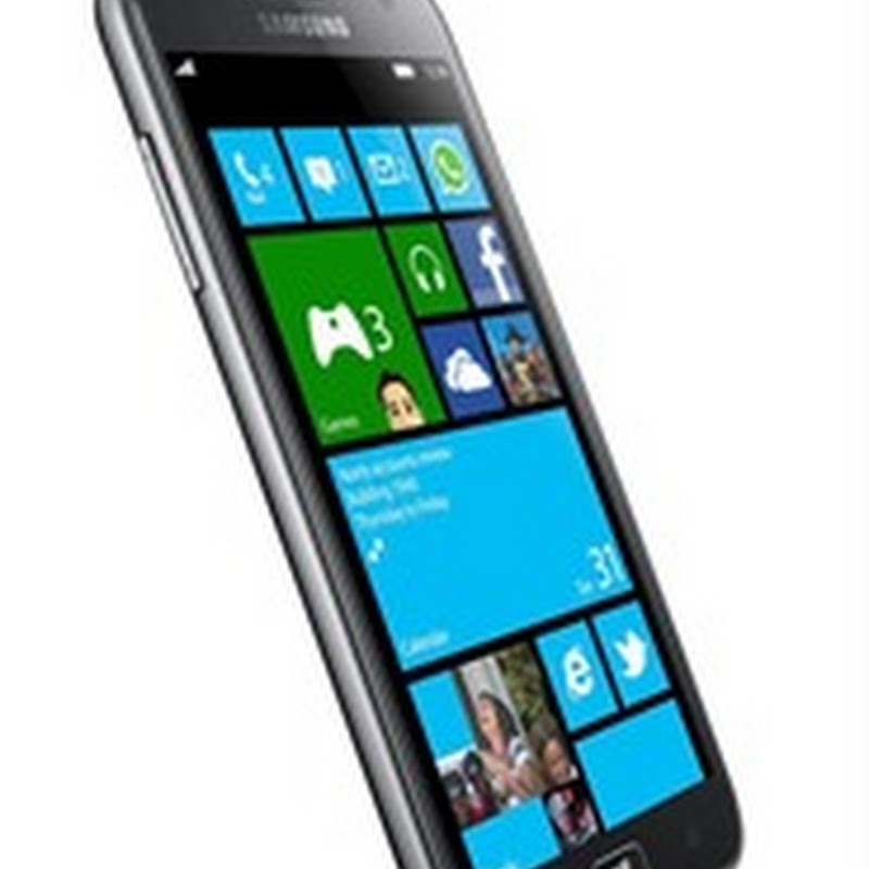Samsung ATIV S: El pionero de Windows Phone 8