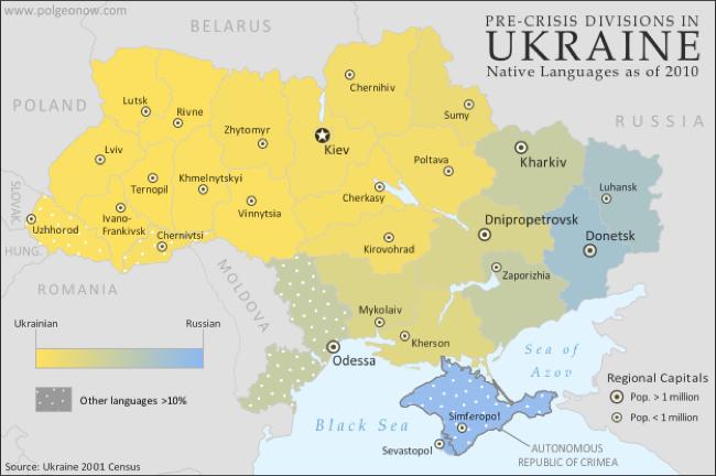 CC Photo Google Image Search Source is 1 bp blogspot com  Subject is ukraine language map ukrainian russian