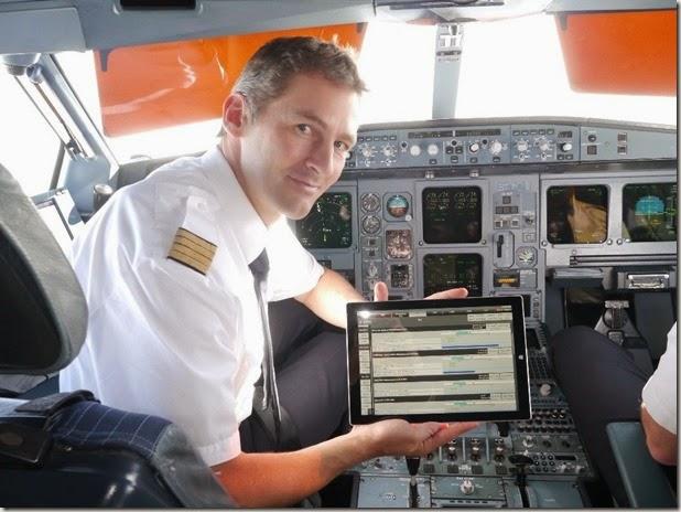 Lufthansa-Cockpit
