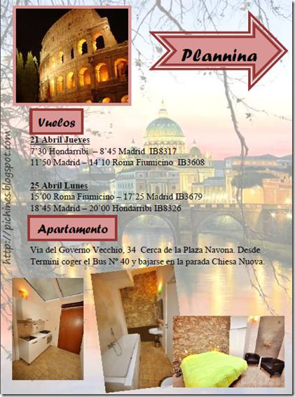 planing roma