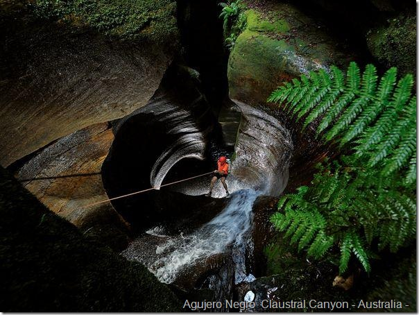 Agujero Negro  Claustral Canyon