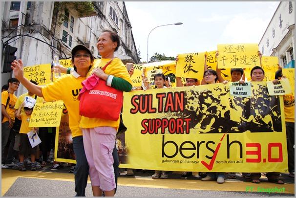 Sultan Support Bersih 3.0
