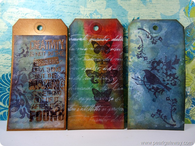 Tim Holtz Creative Chemistry - Day 5 001