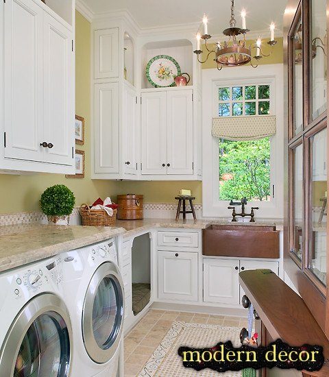 rustic Laundry Room furniture 2013
