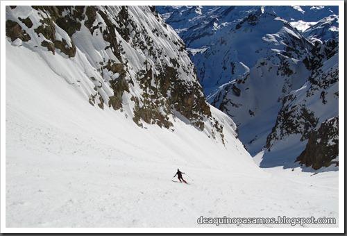Circo Sur del Midi d'Ossau con esquis (Portalet, Pirineo Frances) (Fon) 201