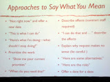 A slide from Say Yes or Say No? What to Do When Faced with the Impossible