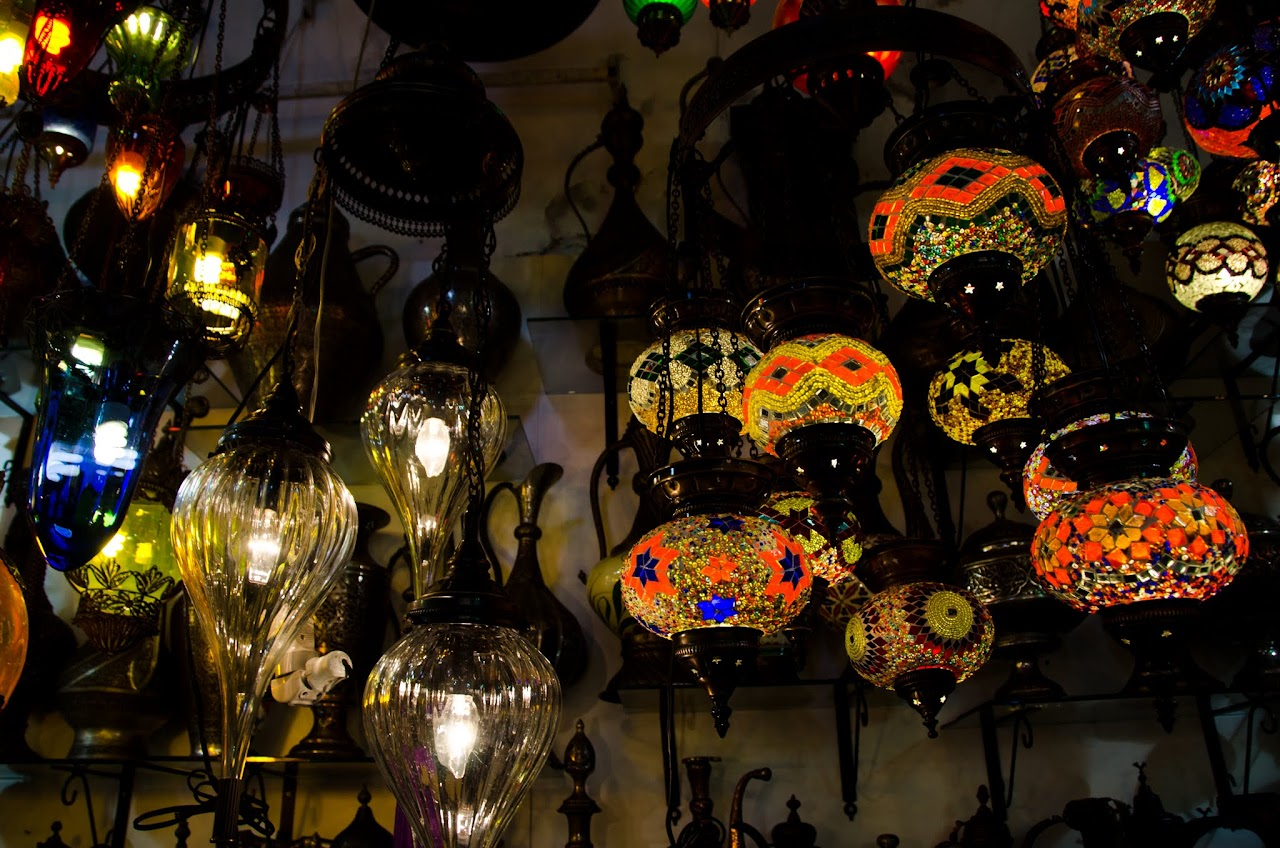 Lamps in Grand Bazaar
