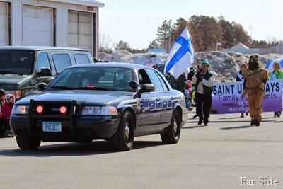 Parade St Urhos Day Police Car