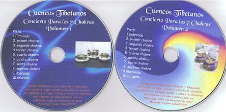 CUENCOS TIBETANOS. Concierto Para los 7 Chakras [ Audio CD ] – Sonidos para alcanzar niveles de conciencia en armonía con la naturaleza y el cosmos
