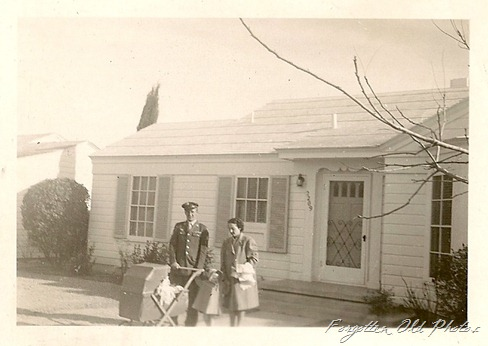 Service Man with wife and two children
