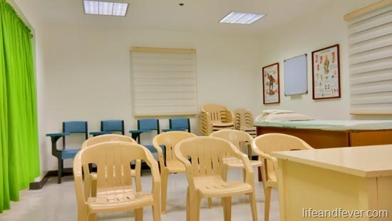 small group discussion room