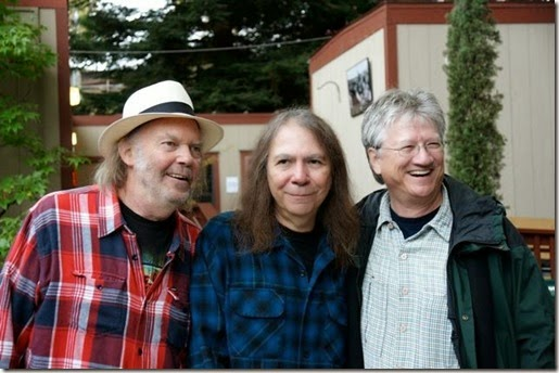 neil, rick and ritchie..... stills is in the toilet, joe vitale is the photographer