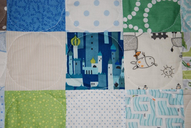 Hues Quilt Detail Quilting bb