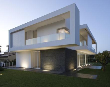 Casa villa pm arquitectura y construcci n con tendencia - Construccion de casas modernas ...