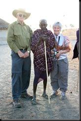 October 23, 2012 Lyn Richard and masai