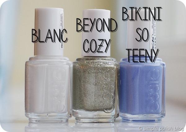 Essie Bikini so Teeny Blanc Beyond Cozy