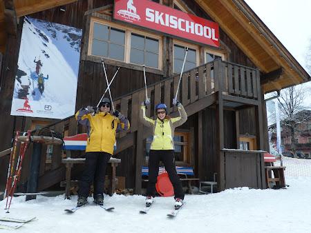 Ski Kaprun: prima lectie de schi