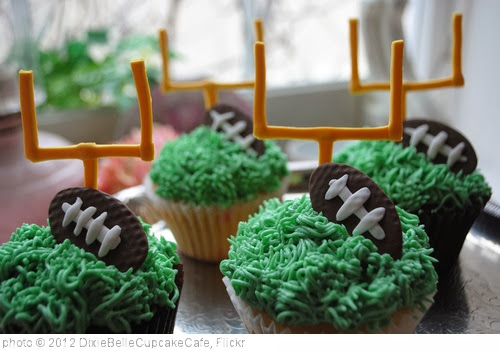 'Football Cupcakes' photo (c) 2012, DixieBelleCupcakeCafe - license: http://creativecommons.org/licenses/by-nd/2.0/