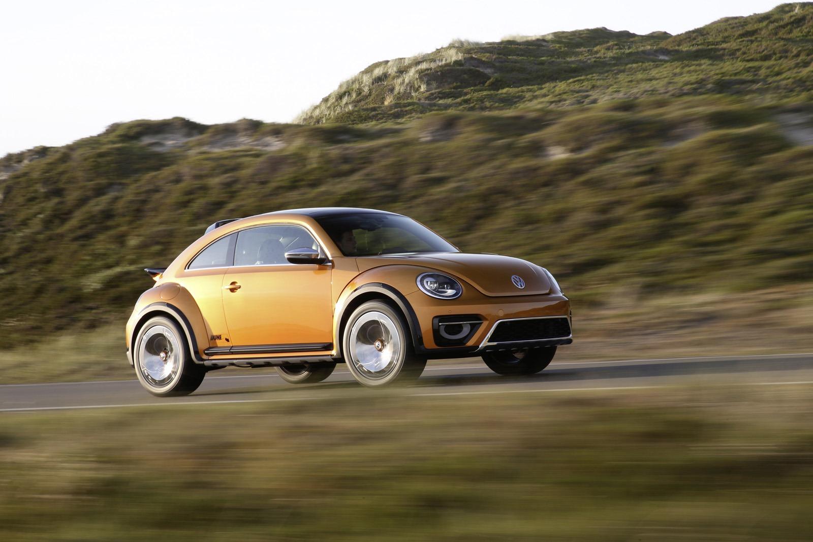 Предсерийный концепт VW Beetle Dune 2014 года