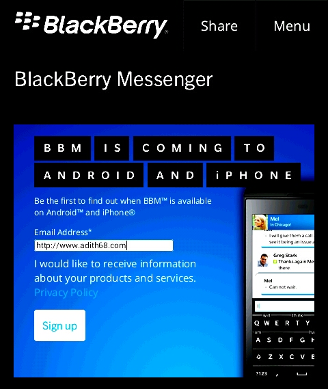 september ? Dimana tempat download bbm android ? Adakah link download
